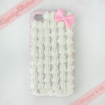 Sweet Simple Candy Pink iPhone Case