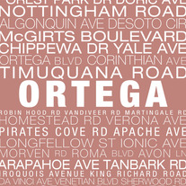 Ortega Neighborhood Print