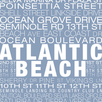 Atlantic Beach Neighborhood Print