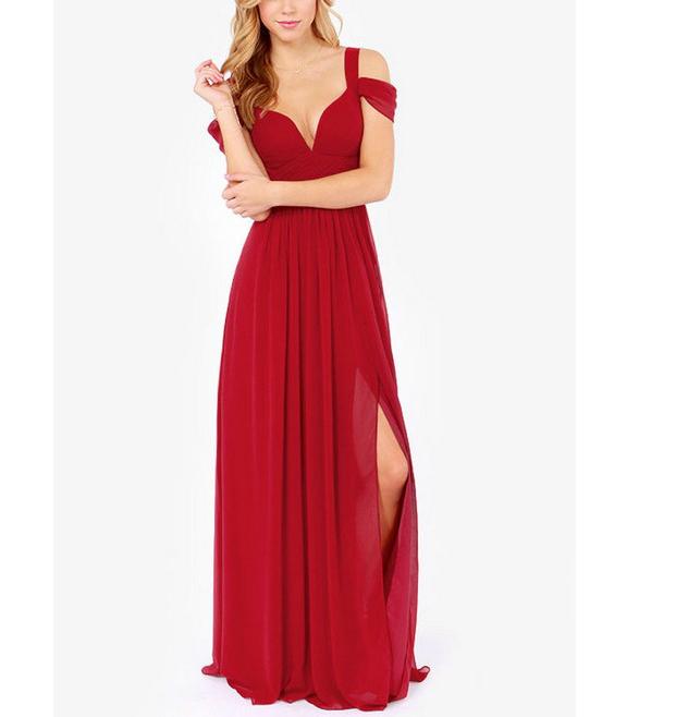 Long Maxi Evening Dress