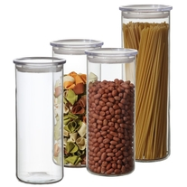 Simax 8-Piece Cylinder Storage Container Set