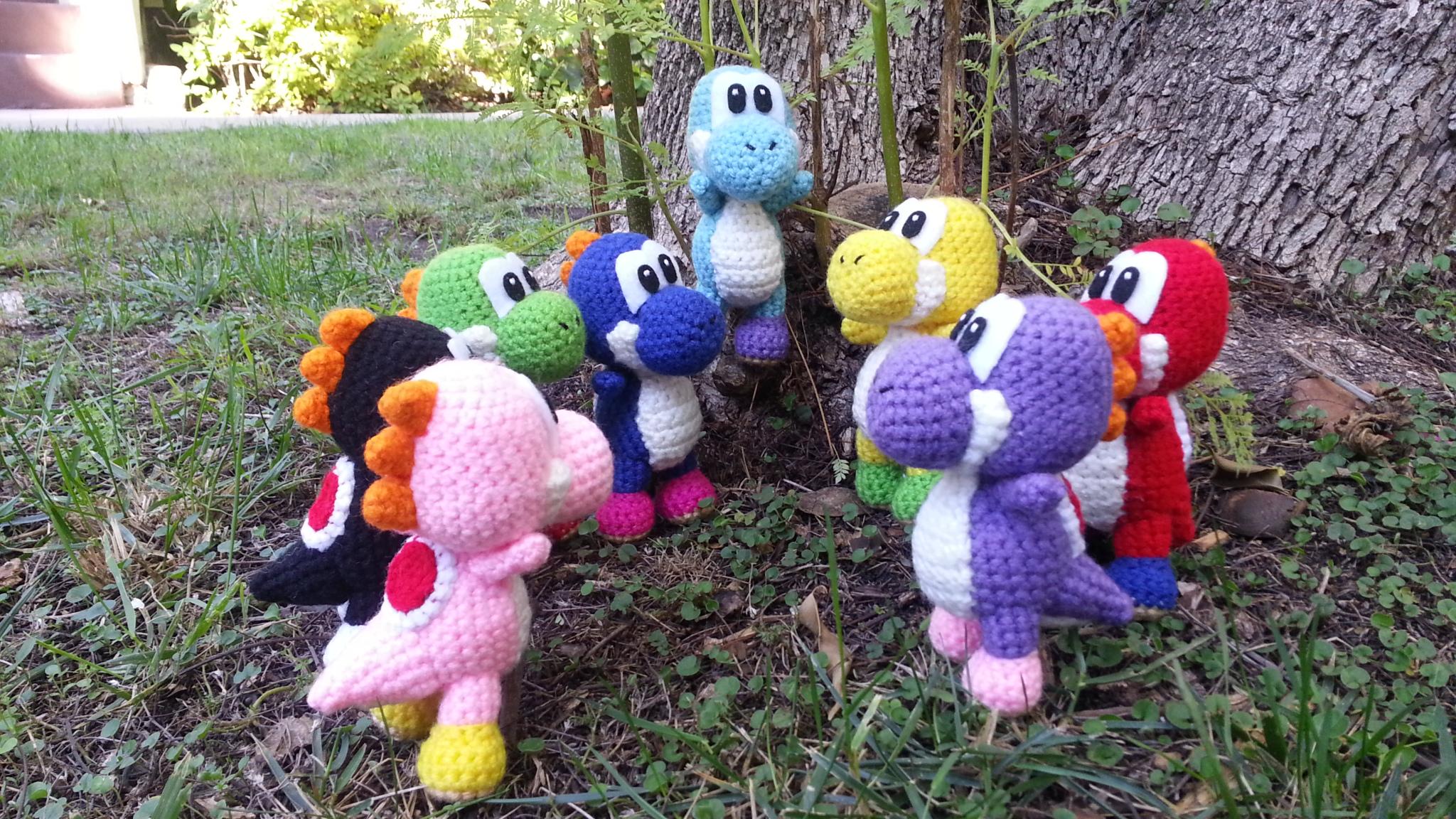 Crochet Yoshi : Yoshi amigurumi