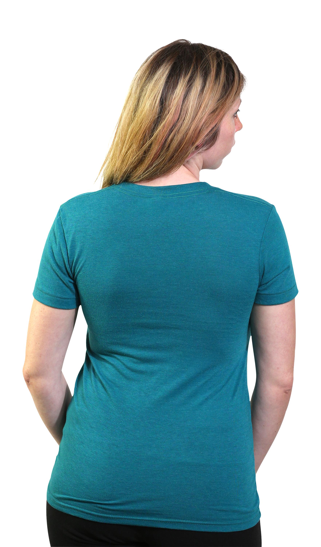 Teal Shirt Womens Is Shirt