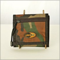 Camouflage Three Fold Wallet
