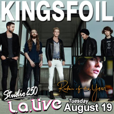 @la live: 8/19 rookie of the year, kingsfoil