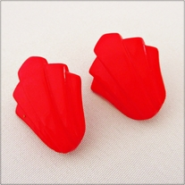 Red Deco Earrings