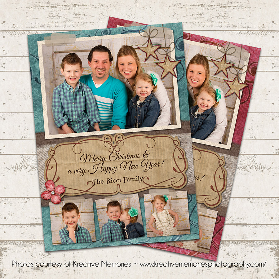 Valerie Pullam Designs Shabby Chic Christmas Photo Card Photo - Luxury christmas card templates for photographers 2014 scheme