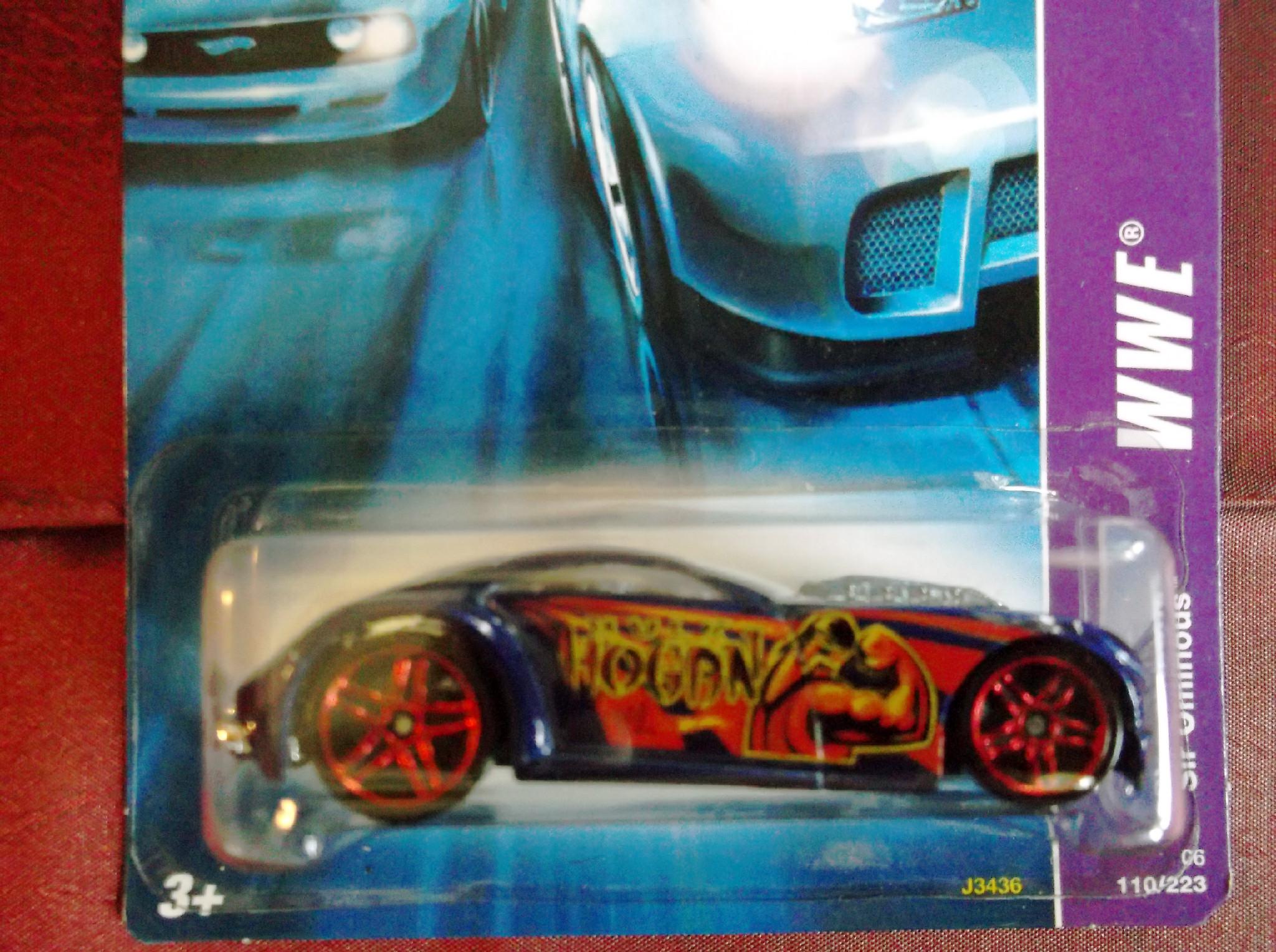 hulk hogan toy car