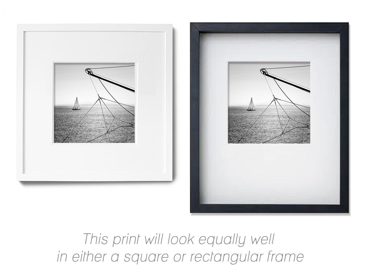 nautical decor sailboat art sailboat photography black and