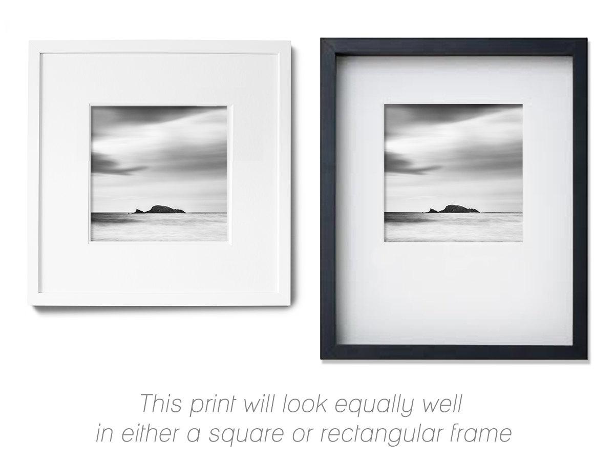 Zen wall art minimalist art black and white ireland for Minimalist gifts for housewarming