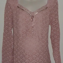 Pink Top-NEW-Motherhood Maternity Size 2X