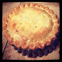 MARCH 13 CLASS:  FOUR SIMPLE SAVORY PIES