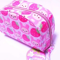 Korilakkuma Strawberry Makeup Pouch [CS-86501]