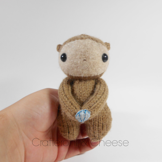 Amigurumi Wool : Amigurumi Knit Otter Plush ? Crafteroni & Cheese ? Online ...