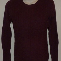 Dark Maroon Sweater-ME Size Small  CLTE2