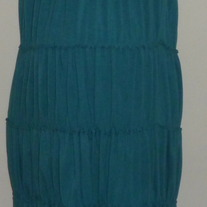 Teal Tube Top Dress-Old Navy Maternity Size Medium