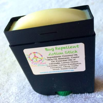 Natural bug repellent/bug bite relief stick