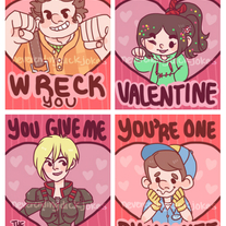 Wreck It Ralph Valentines