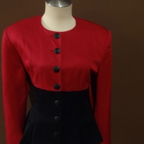 Red & Black Tahari Size10