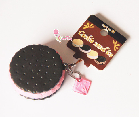 Cafe De N Squishy Tag : *Rare* Cafe De N Nic licensed Cookie Squishy ? Uber Tiny ? Online Store Powered by Storenvy