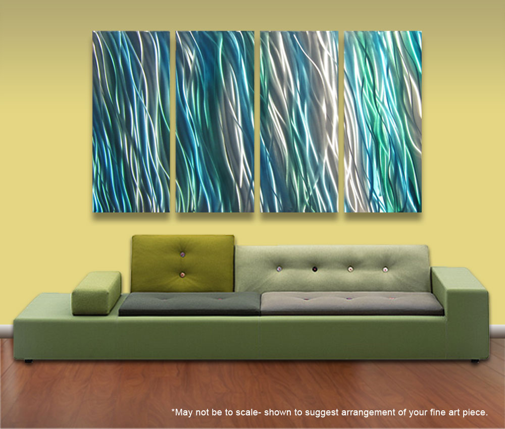Cool Turquoise Metal Wall Art Images - The Wall Art Decorations ...