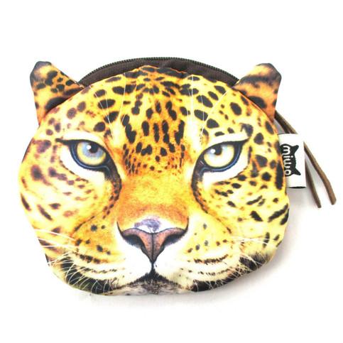 Realistic Cheetah Jaguar Leopard Face Shaped Soft Fabric