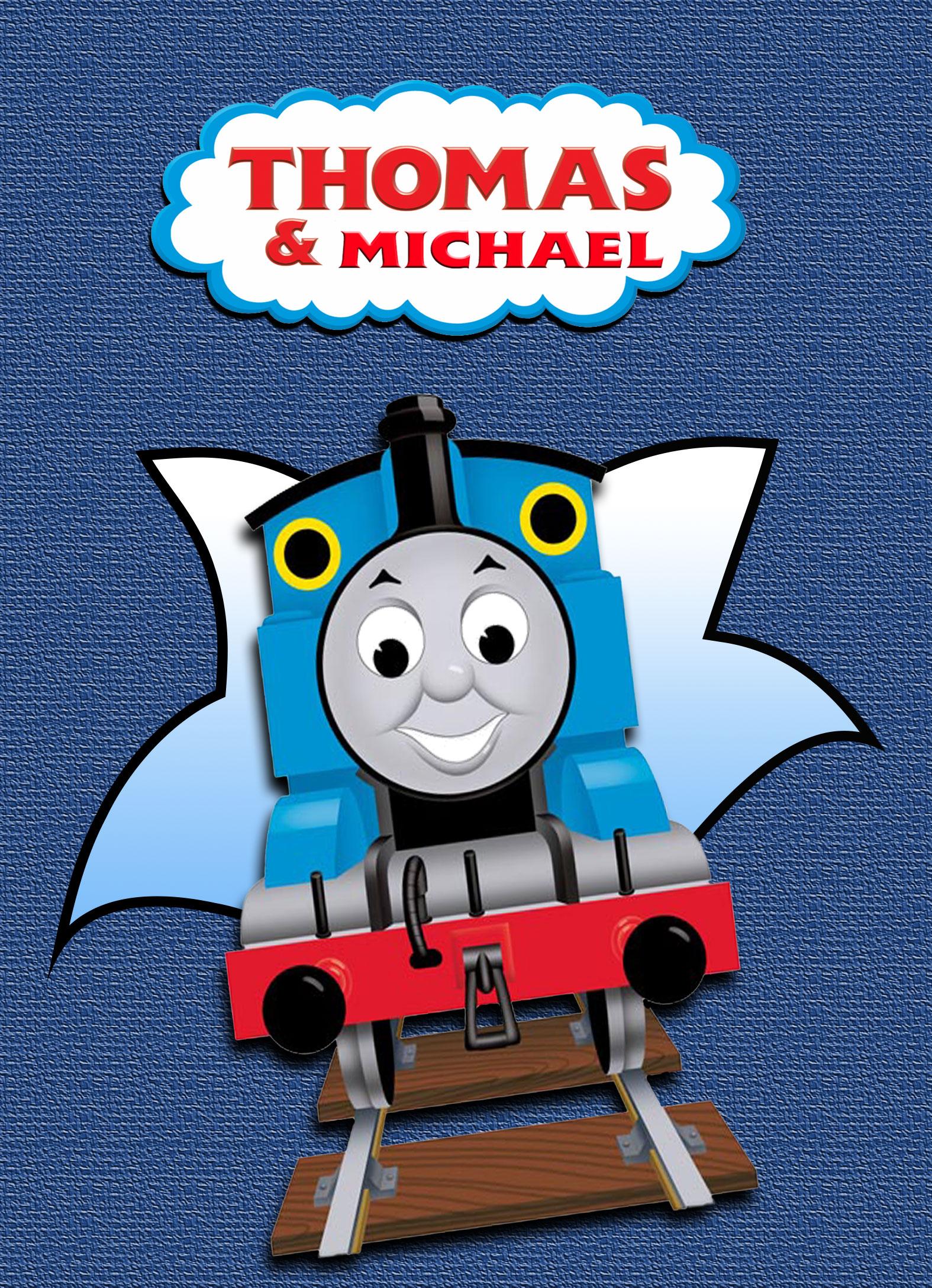 Thomas the Train Personalized Birthday Invitation 2 Sided, Birthday ...