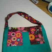 Spring Patch Purse