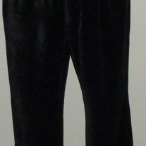 Black Terry Cloth Pants-Old Navy Maternity Size Medium