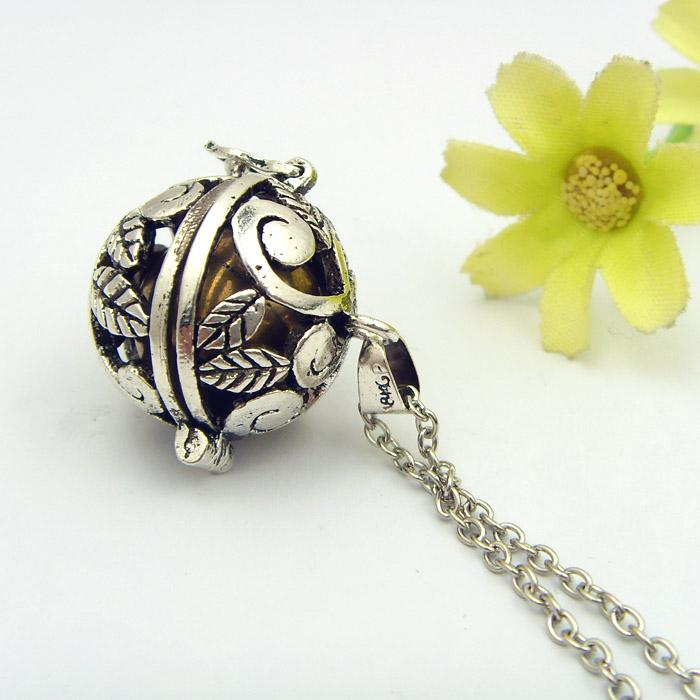 Angel caller harmony ball pendant necklace happiheart designs angel caller harmony ball pendant necklace thumbnail aloadofball Images