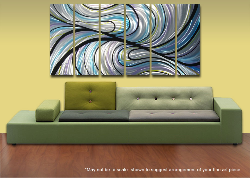Lovely Abstract Metal Wall Art Pictures Inspiration - Wall Art ...