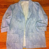 Women's Denim Blazer
