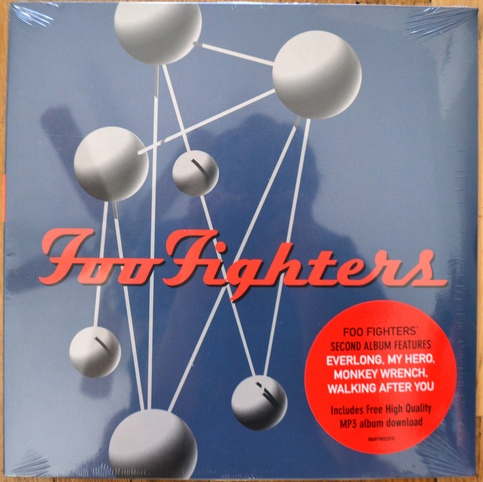 Foo Fighters The Colour And The Shape Vinyl 2xlp