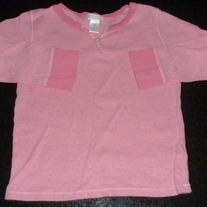 Pink Long Sleeve Shirt-Old Navy Size 4T