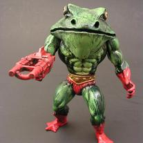 Custom MOTU Croakor figure by Monsterforge