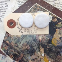Large Clay Studs *Available in other colors