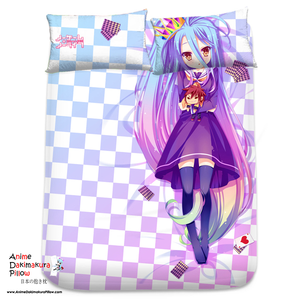 Brand New Shiro No Game No Life Japanese Anime Bed