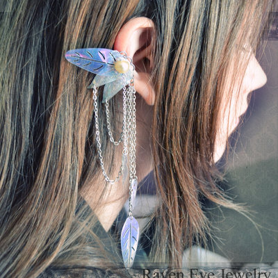 ear cuff enchanted fairy ear cuff