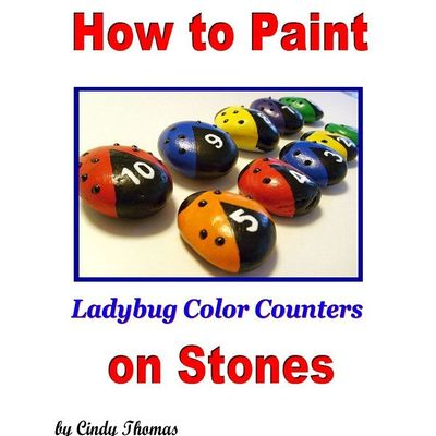 How to paint color counters on stones