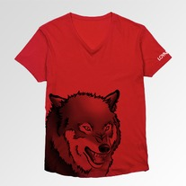 Loyalty V-Neck Red