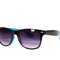 The Arcades: Black - Unisex Wayfarer Sunglasses (Multiple Colors)