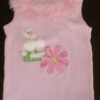 Pink Springtime Tank-Greggy Girl (Boutique) Size 24 Month