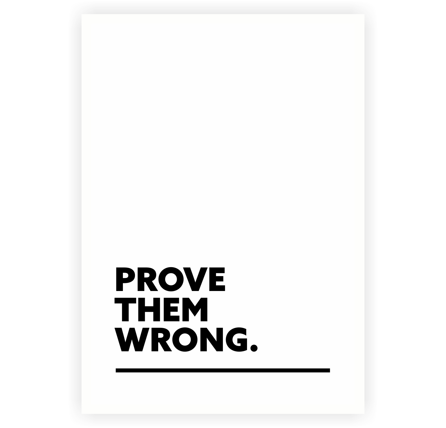 proving them wrong How to prove people wrong & do the impossible there is no successful person on earth who didn't face rejections along  some of them are held back by their fears, .