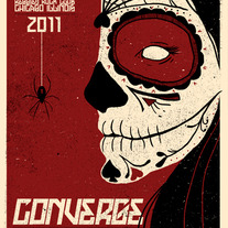 Converge Screen Printed Poster