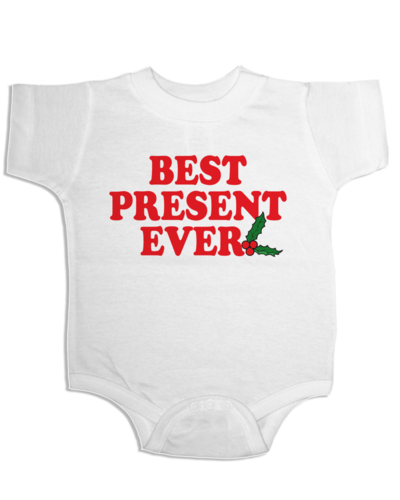 Your baby will likely be ridin' with a dirty diaper in this onesie. Find it here for $