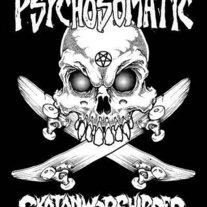 Psychosomatic Skatanworshipper Sticker