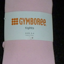 Pink Tights-NEW-Gymboree Size 3-4