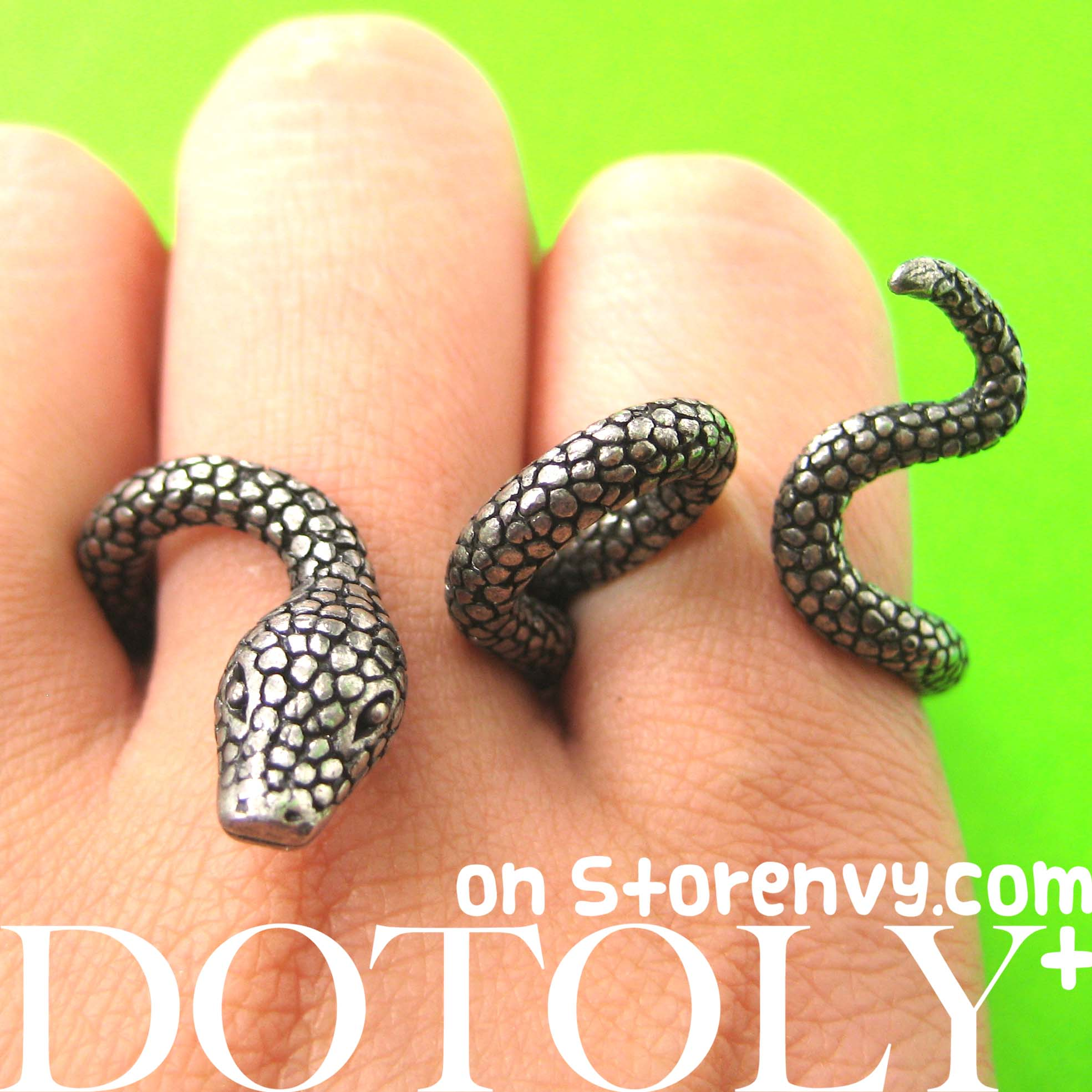 serpent by green rings loading ring ban moda jewelry large snake headed lynn of three garden eden