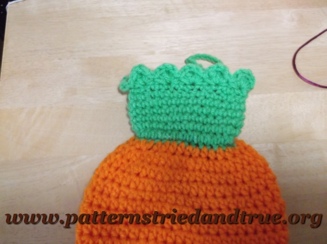 Crochet Grocery Bag Pattern : Crochet Pattern DIY Carrot Grocery Bag Holder, Practical Kitchen Decor ...