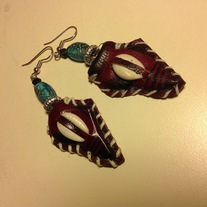 Africa Shell Earrings